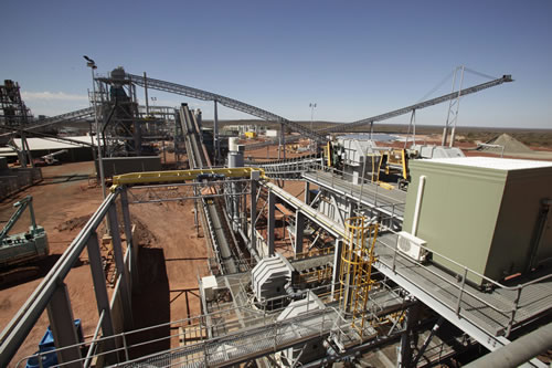 Crushing and Beneficiation Plant